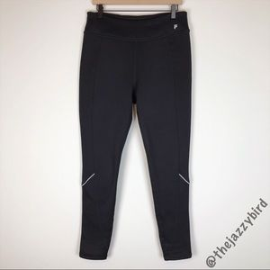 Fila Black Fleece Lined Skinny Leggings